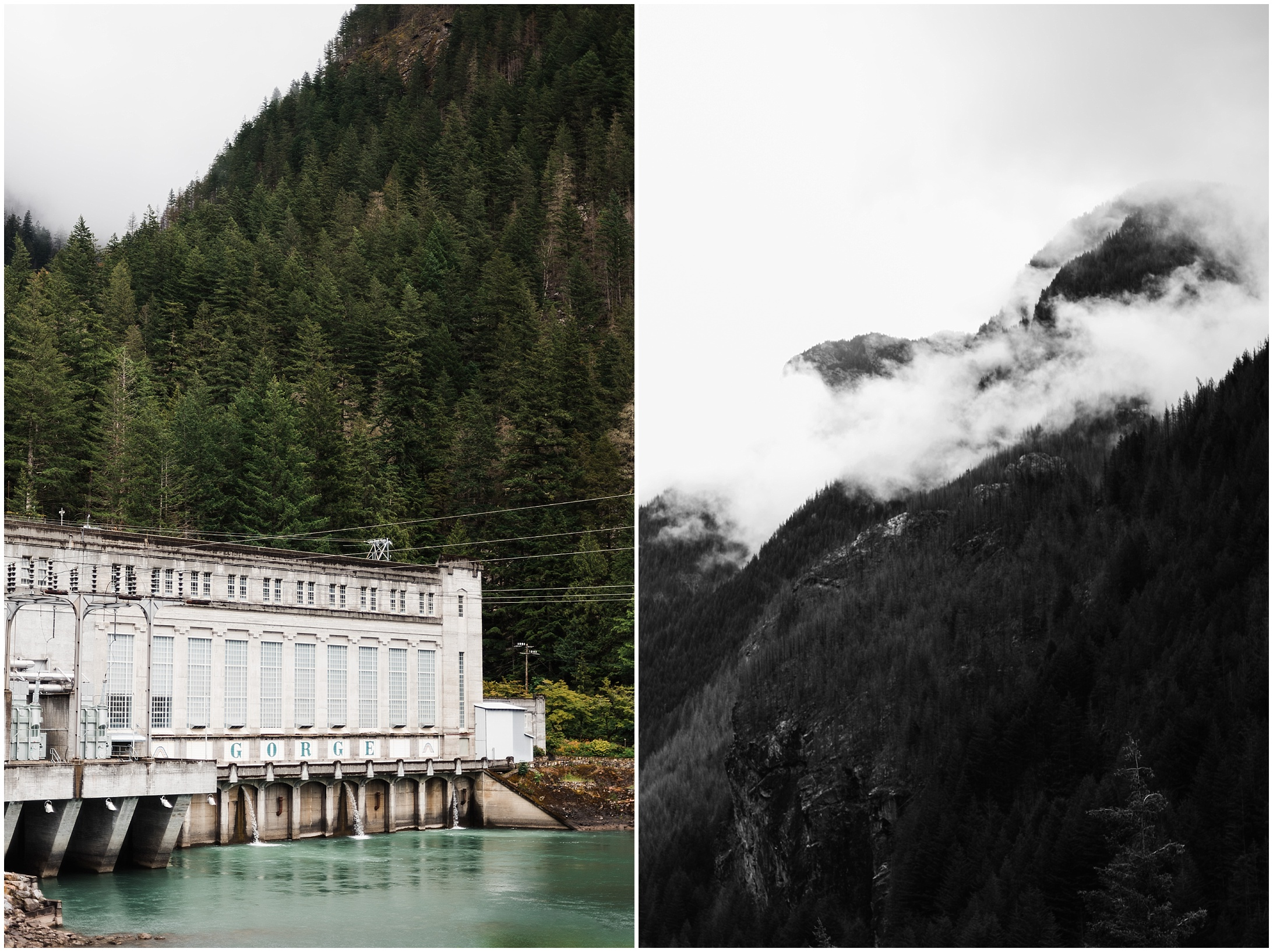 Collage of North Cascades National Park by Forthright Photo