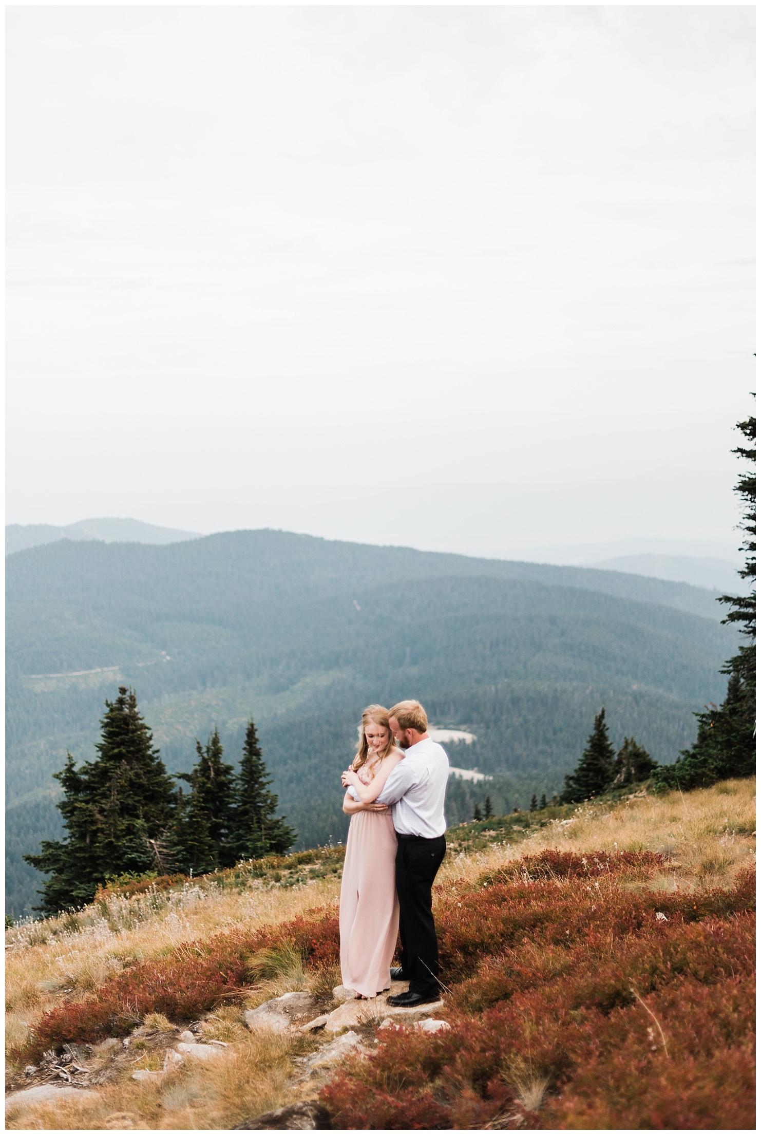 Mt Spokane Engagement Session 3