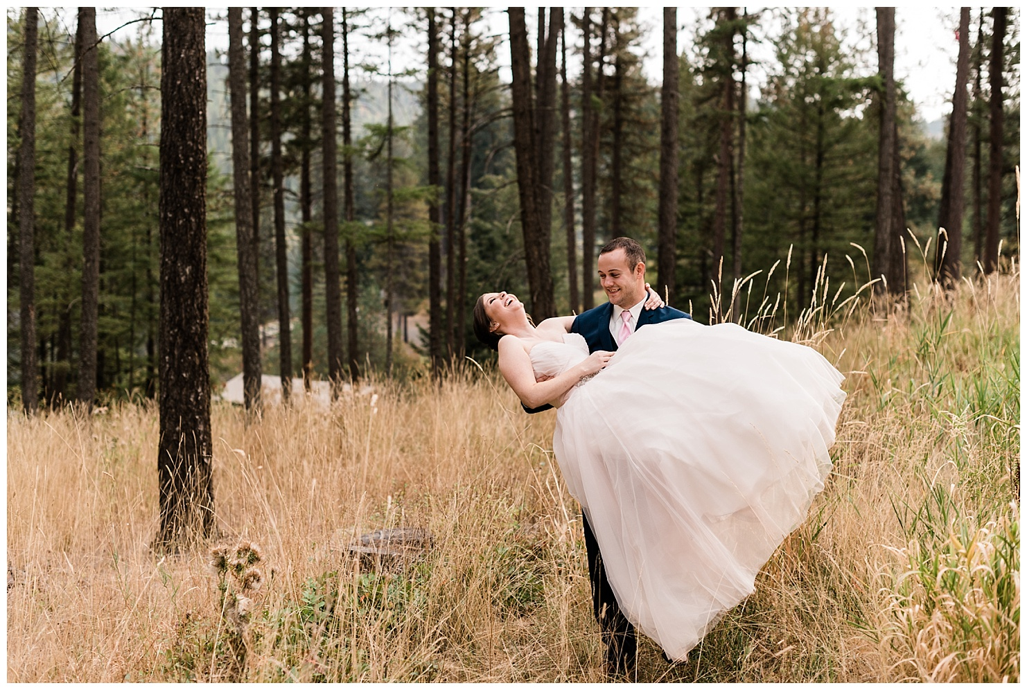 Camp Four Echoes Wedding by Forthright Photo, Coeur d'Alene Wedding Photographers
