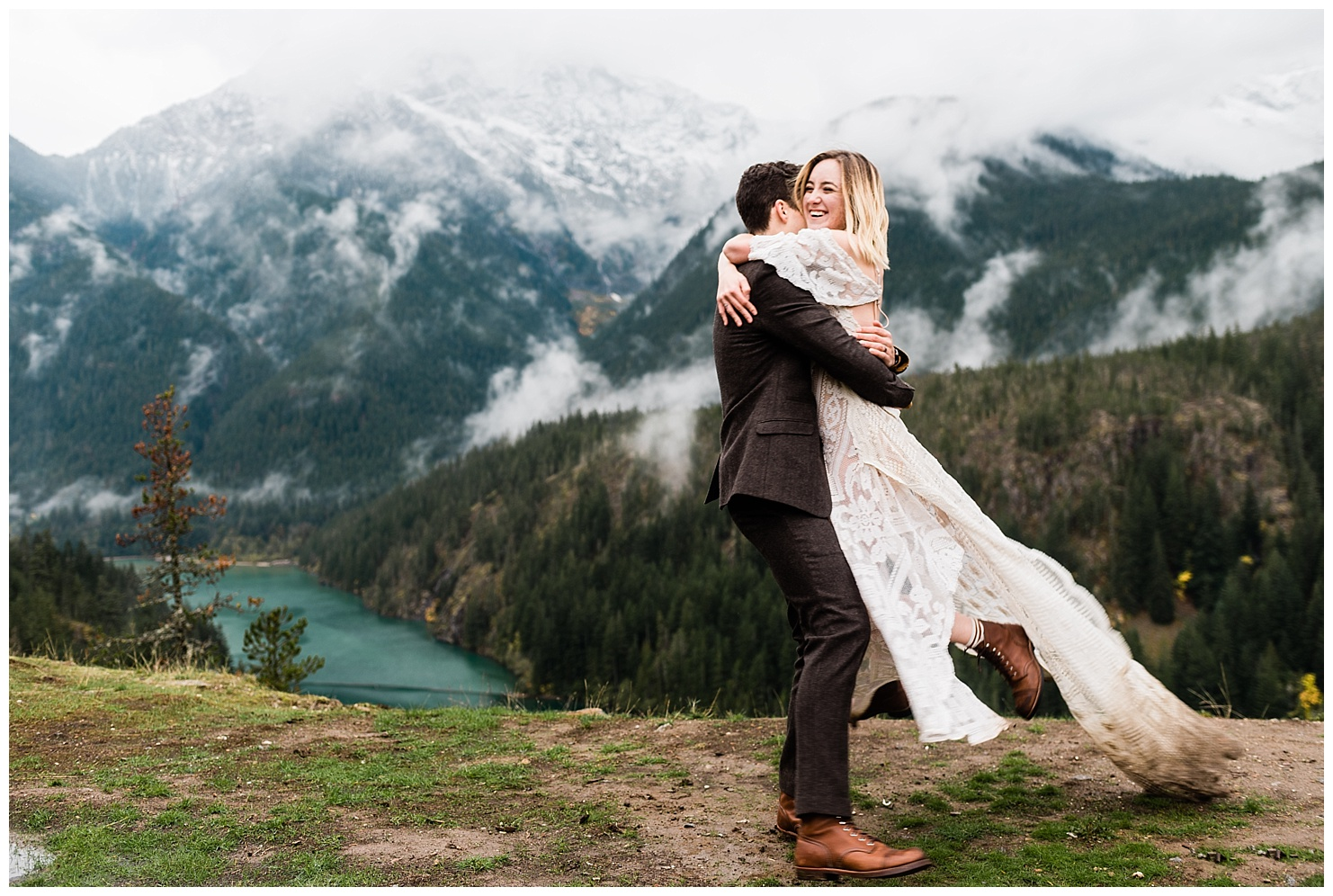 North Cascades Elopement by Forthright Photo, pnw elopement photographers