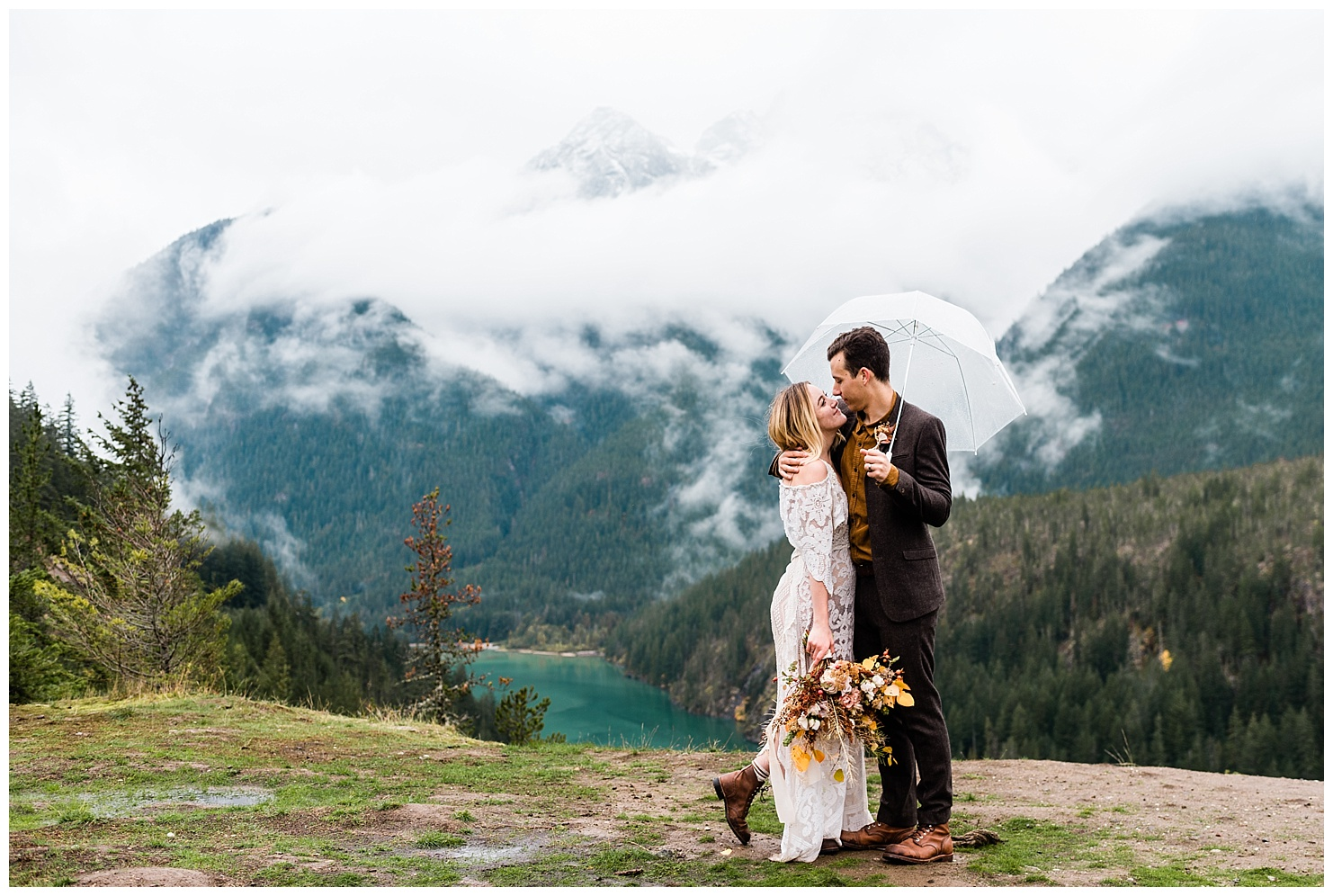 PNW Elopement by Forthright Photo, pnw wedding & elopement photographers