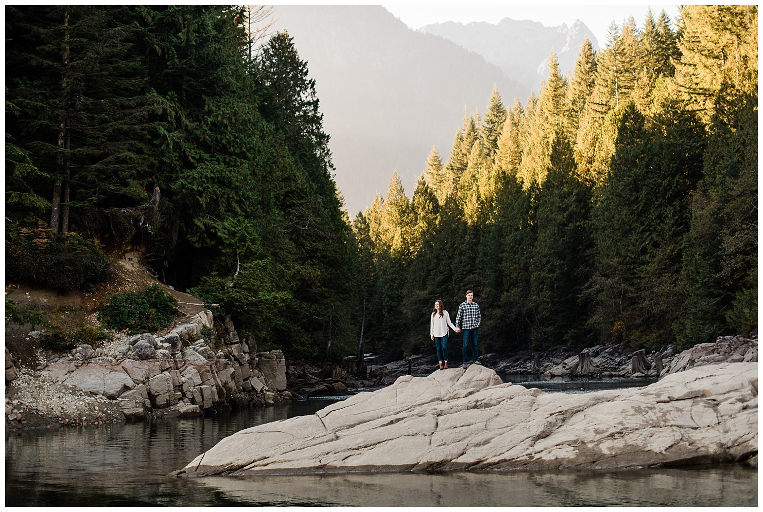 Golden Ears Provincial Park Engagement Session by Forthright Photo, PNW Photographers