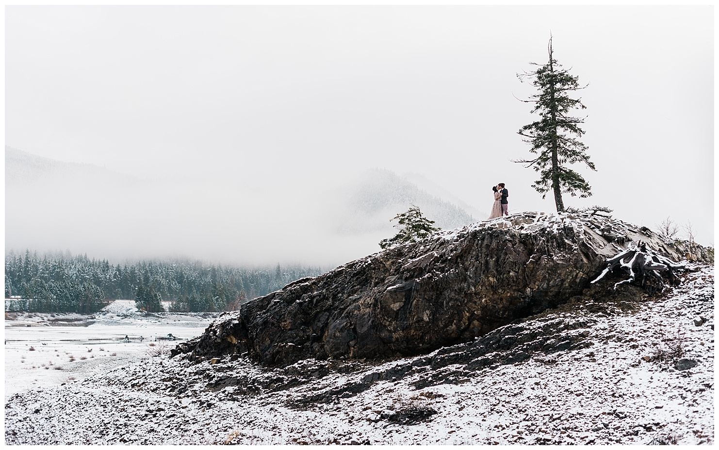 Snoqualmie Pass Elopement Inspiration by Forthright Photo, PNW Wedding & Elopement Photographers