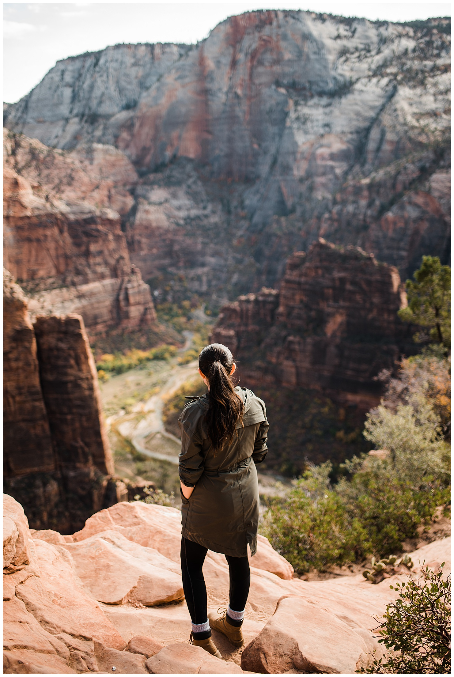 Picture of Angel's Landing, Zion National Park by Forthright Photo, Southwest Elopement Photographers and traveling wedding photographers