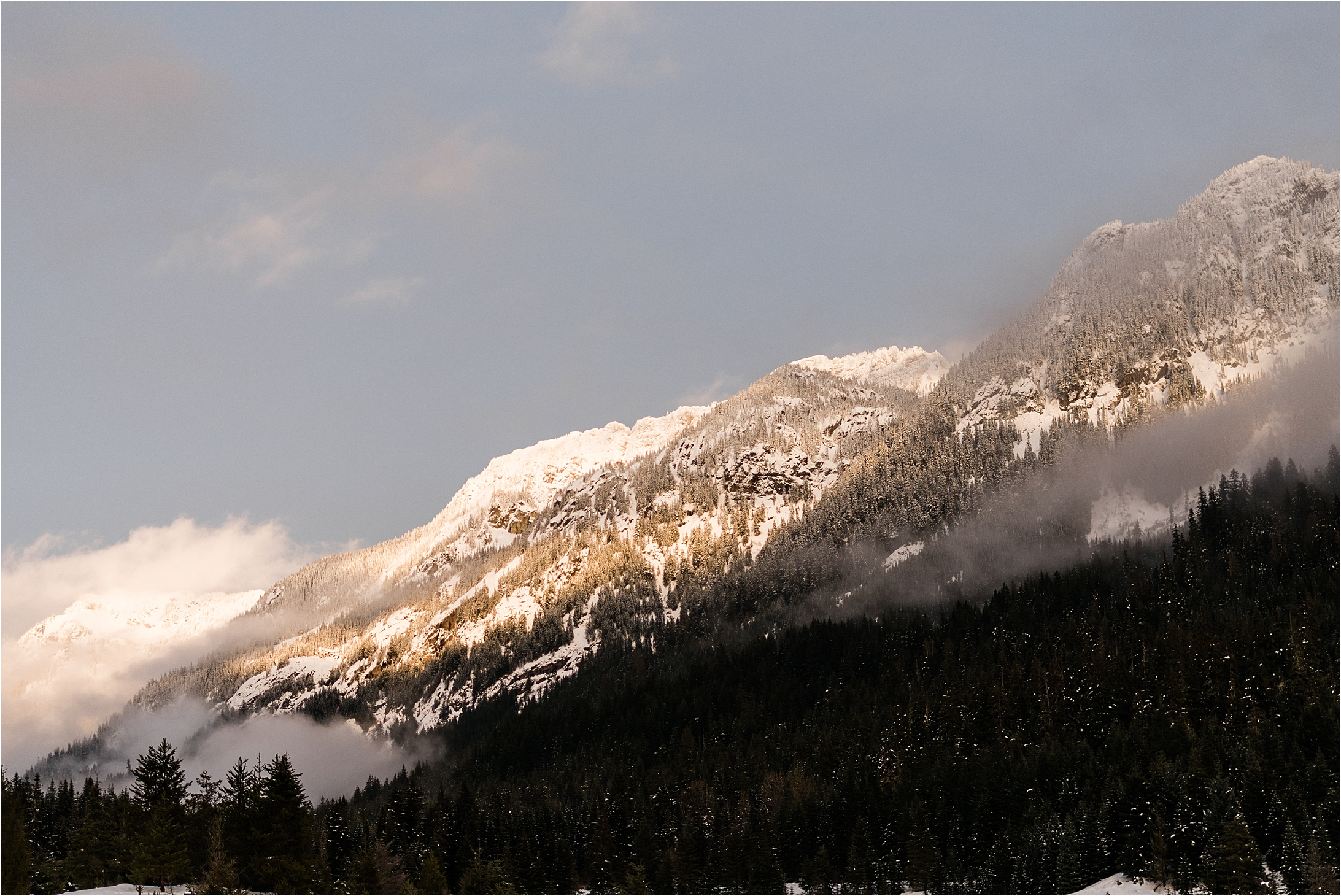 Winter Adventures in Snoqualmie Pass, WA - Forthright Photo
