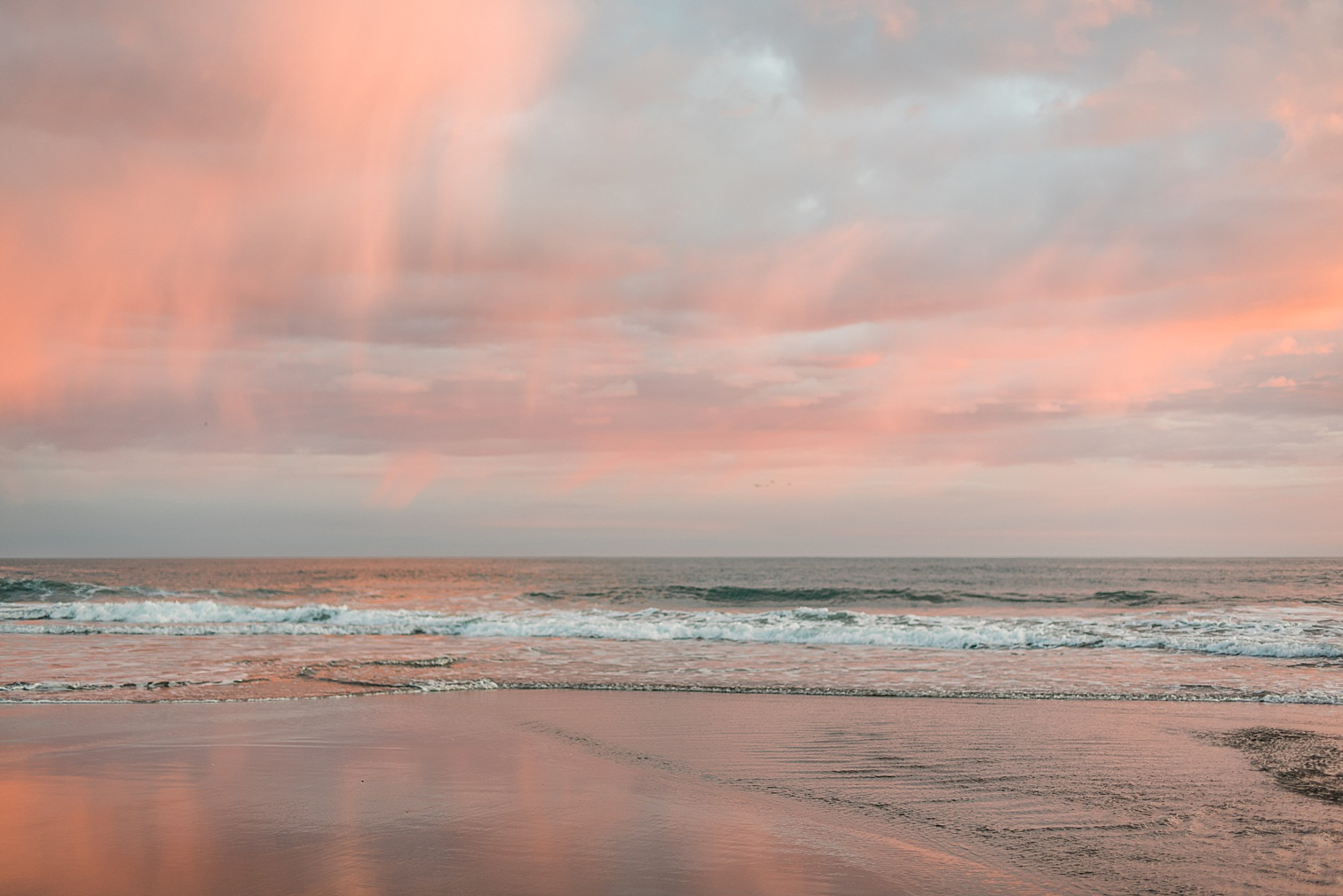 Oregon Coast Elopement Locations & Inspiration - Sunset at Harris Beach State Park. Image by Forthright Photo