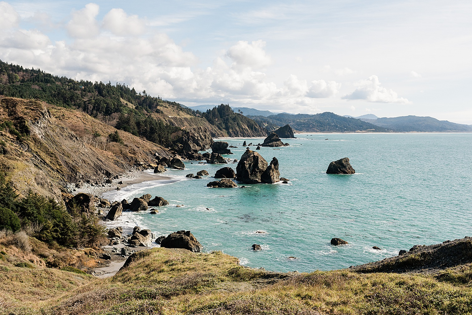 Oregon Coast Elopement Locations & Inspiration - Sisters Rock. Image by Forthright Photo