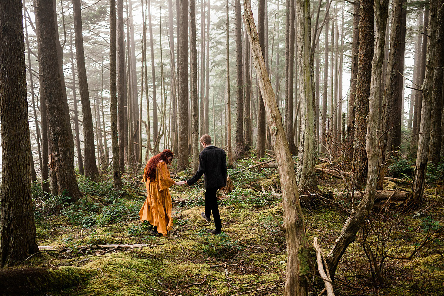Cape Flattery Engagement Session Inspiration by Forthright Photo