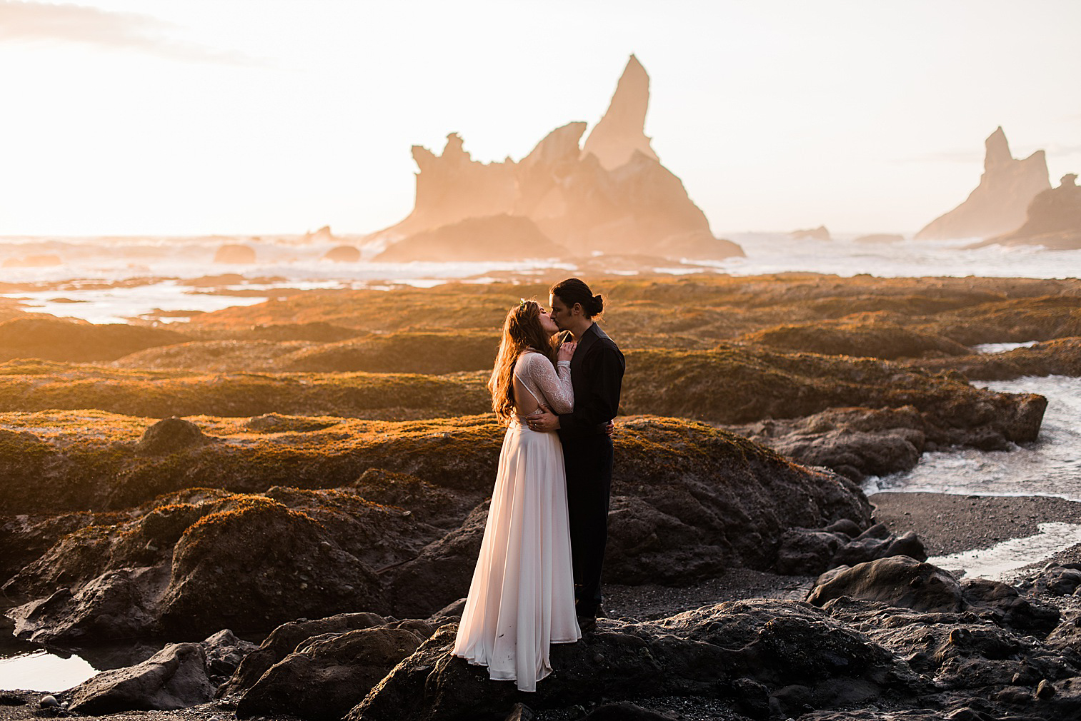 Shi Shi Beach Elopement Inspiration by Forthright Photo, Seattle Wedding & Elopement Photographers