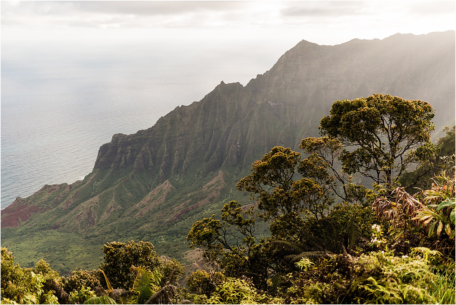 Kalalau Valley at Sunrise. Image by Forthright Photo