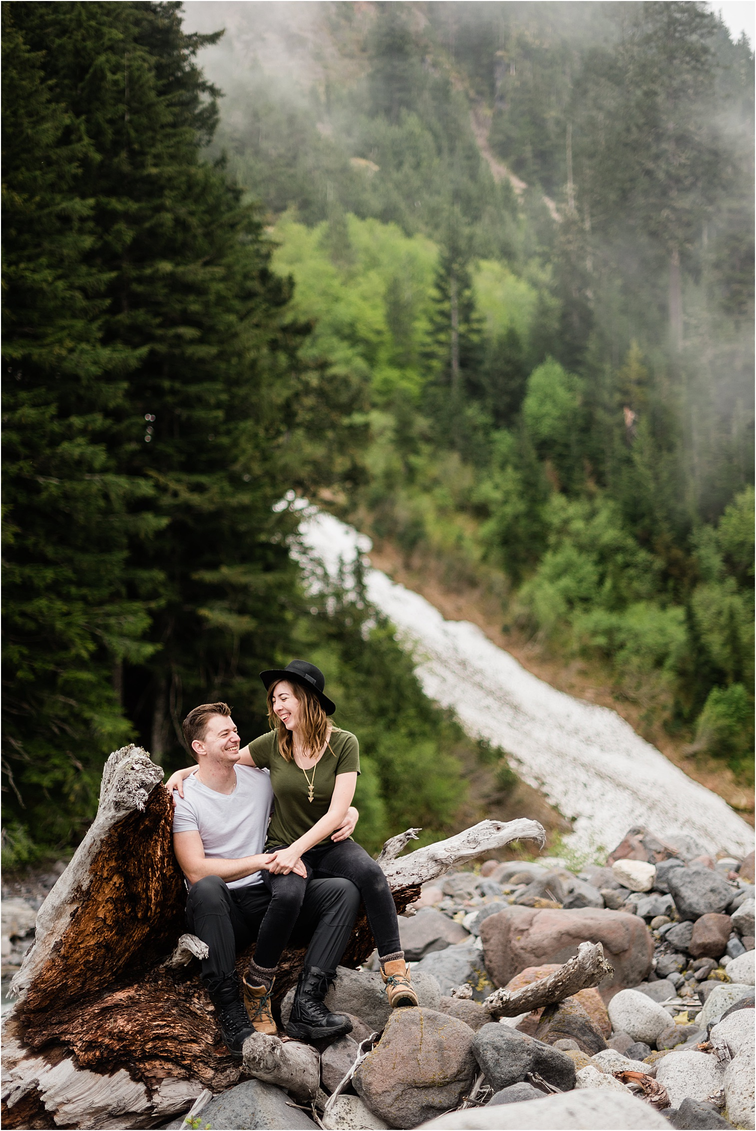 Couple Session in Rainier NP