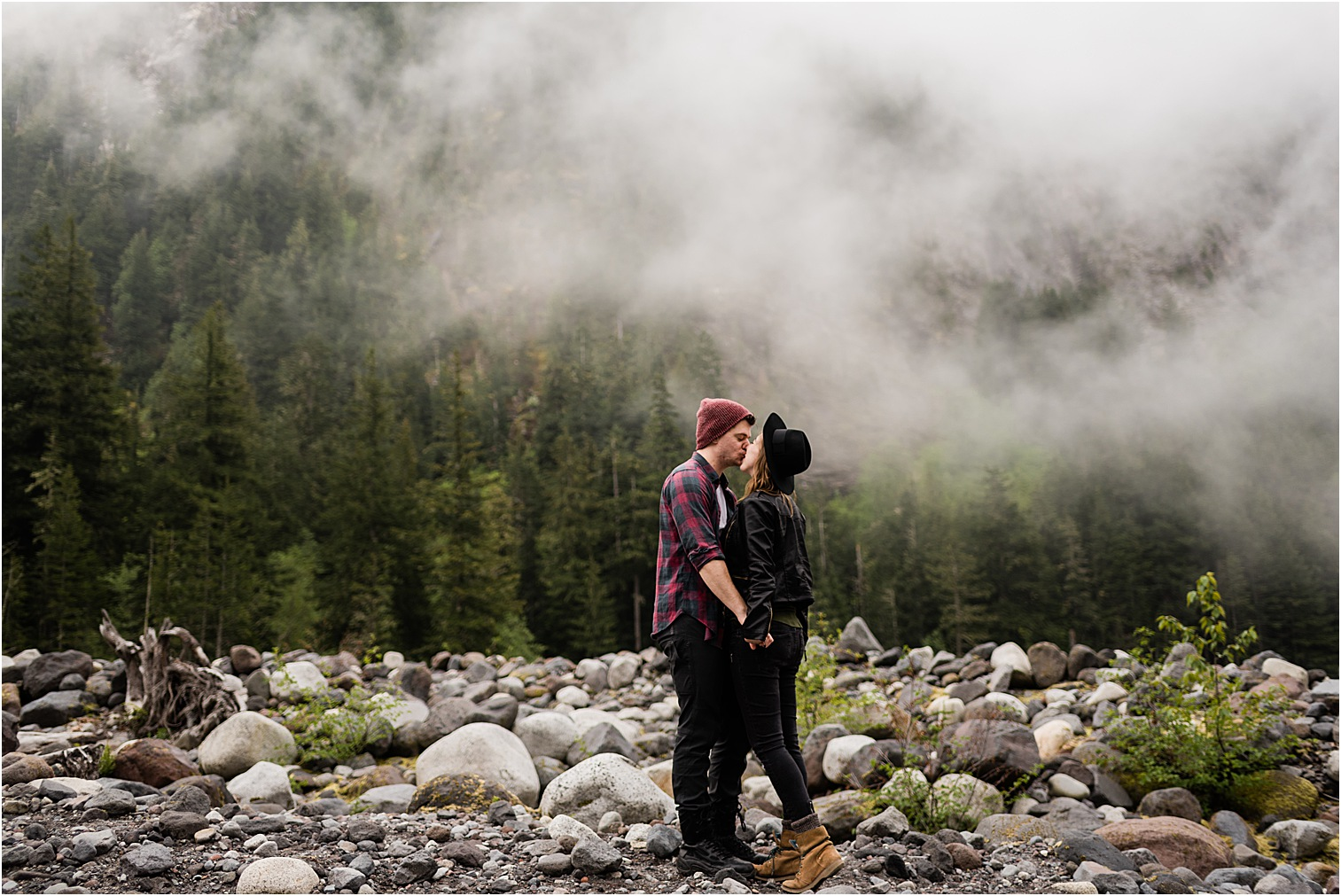 Couple Session by Forthright Photo, Mt Rainier Photographer