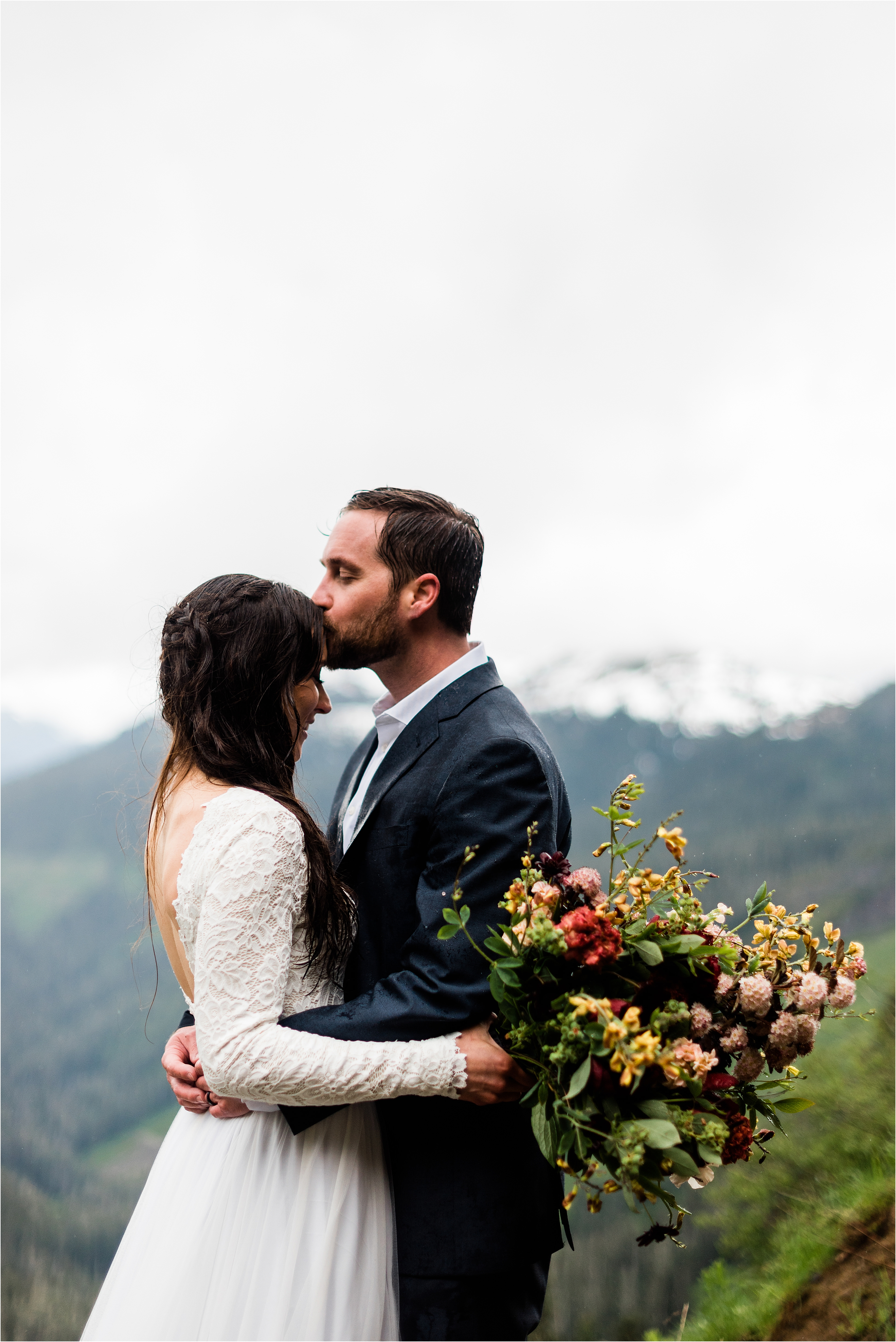Mt. Baker elopement in the North Cascades. Image by Forthright Photo, Seattle Wedding Photographers.