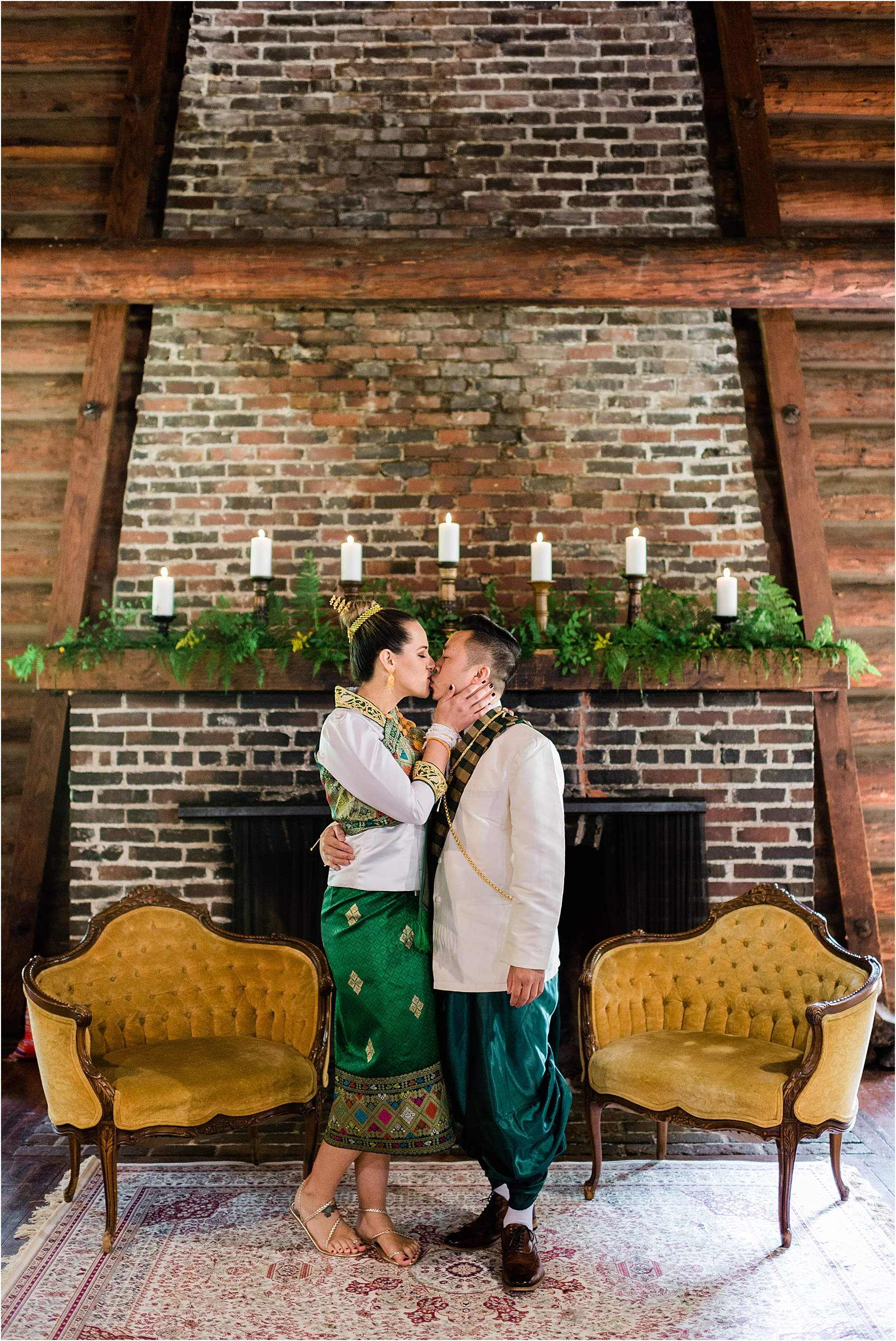 Traditional Laotian wedding at Camp Lane, Oregon. Image by Forthright Photo, Seattle Wedding & Elopement Photographers.