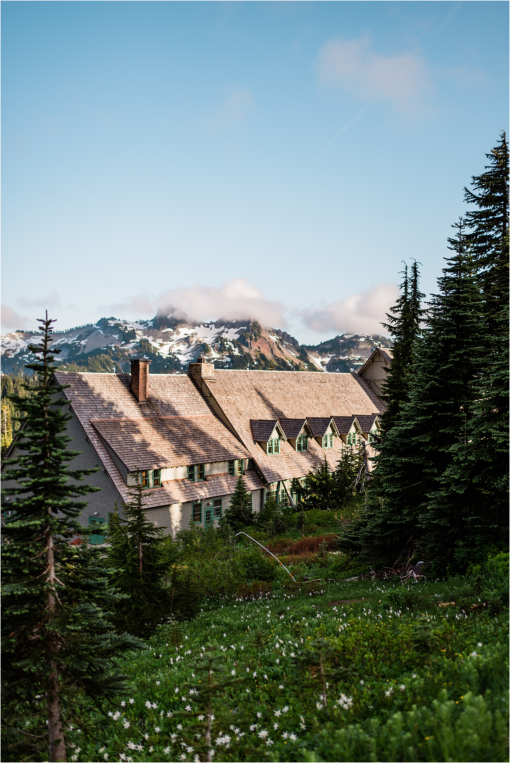 Paradise Hotel in Mount Rainier National Park. Image by Forthright Photo.